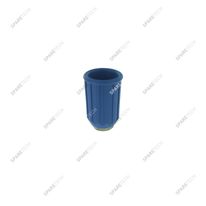 Blue nozzle protection and holder F1/4""