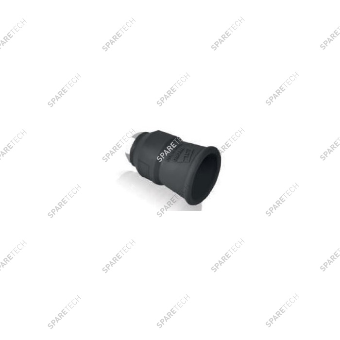 Black nozzle protector and holder F1/8""