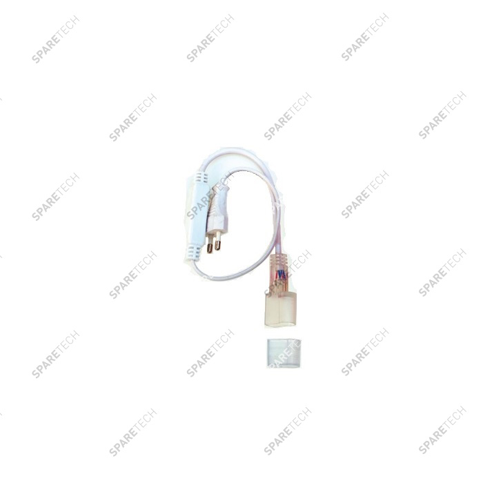 Connector and end cap 220V for flexible neon
