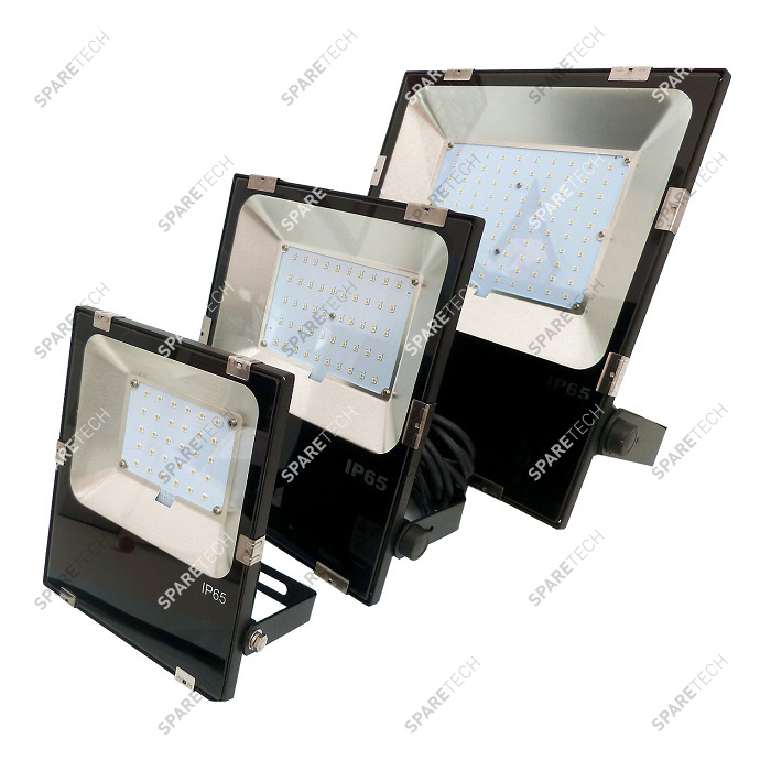 100W LED floodlight with PHILIPS LED, 13000lm, IP65, 220V + 5m cable