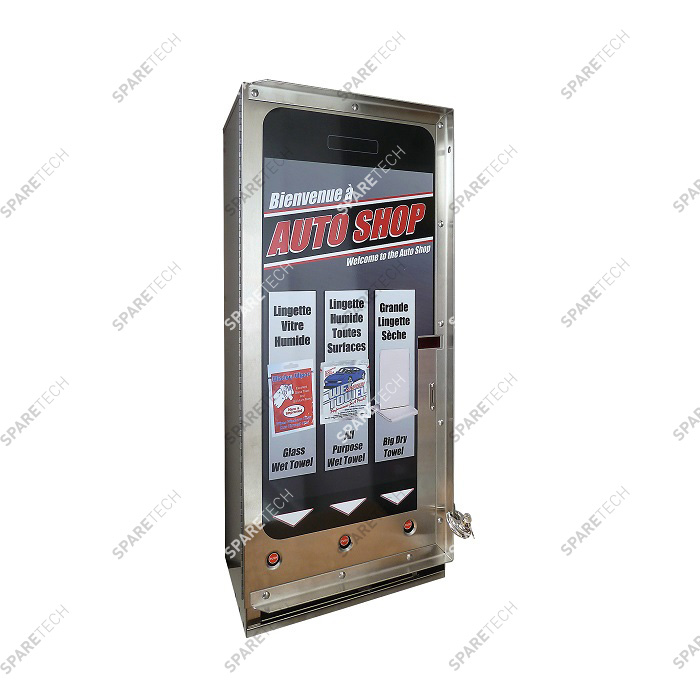 Triple column vendor 24VAC scrolling display and electronic RM5 G00