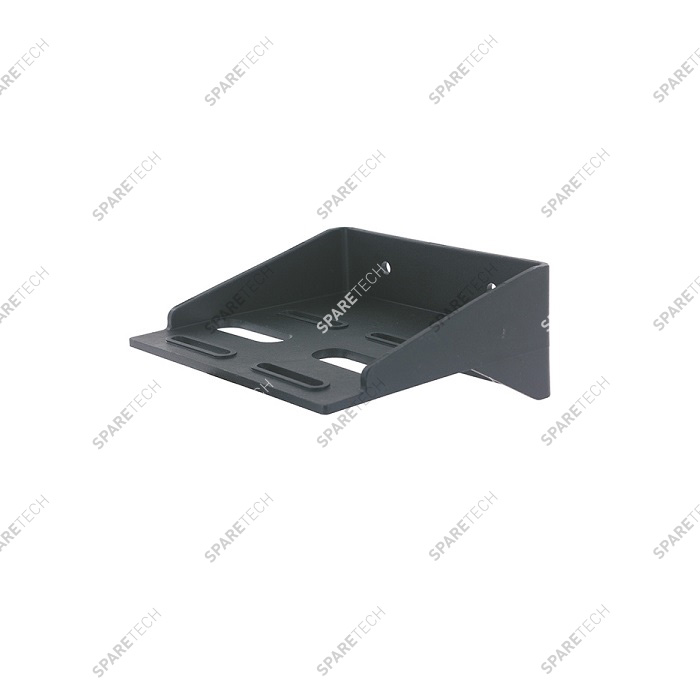Black wall bracket for filter housing