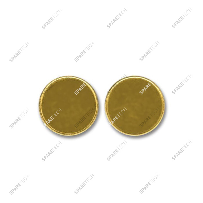 Brass token 26x2.3mm (per 100)